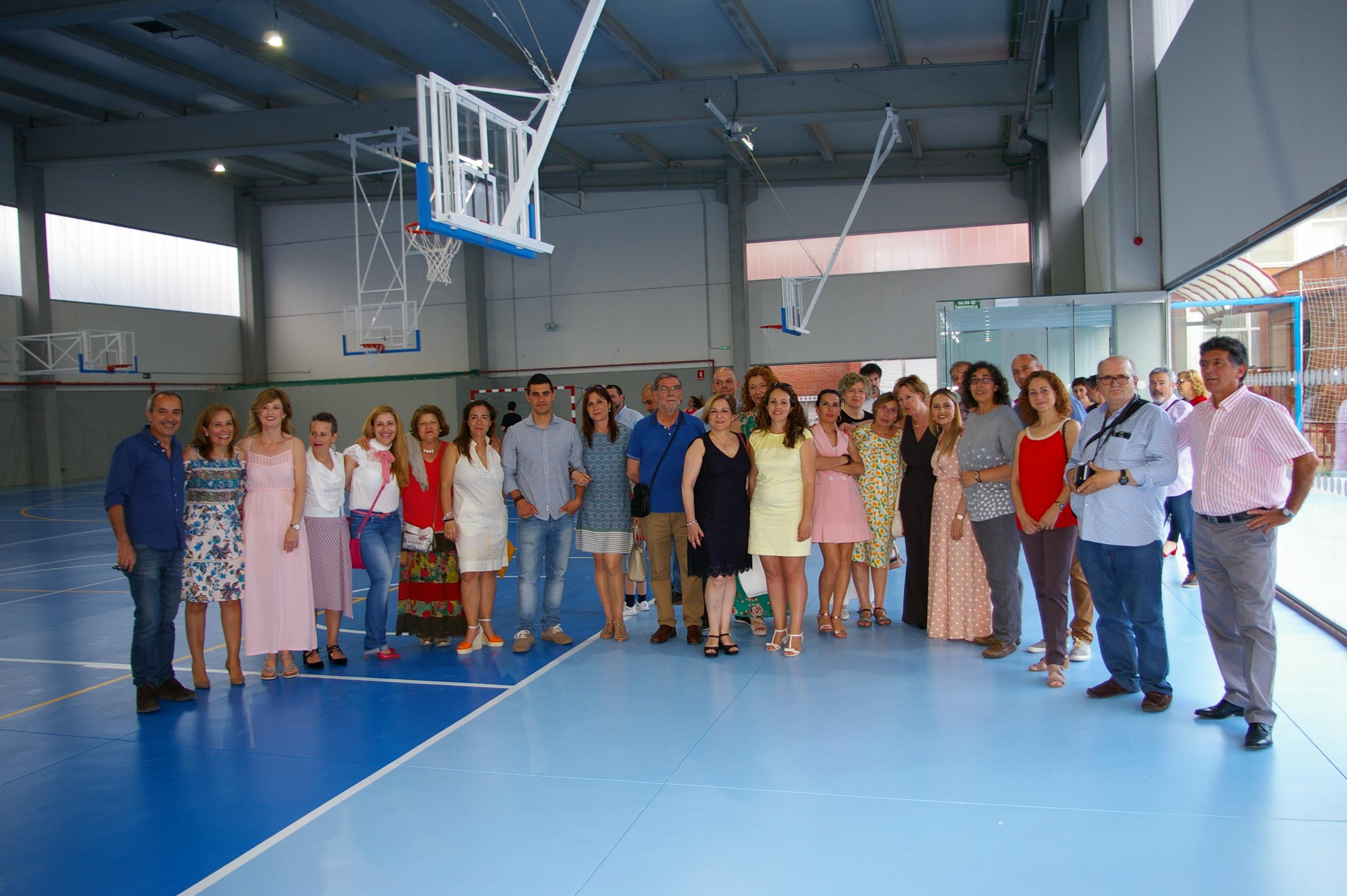 Inauguración Polideportivo